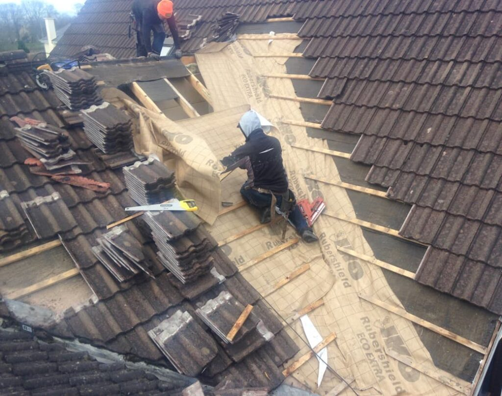 Roof ReSlating Castle Tipperary